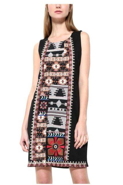 17WWVW44_2000 desigual dress spaceandcolor