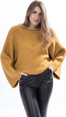 moutaki πλεκτό πουλόβερ σε κοντή γραμμή