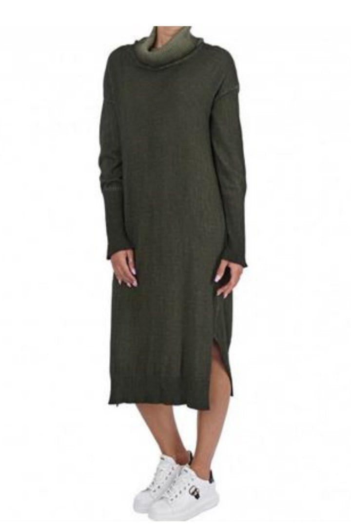 Moutaki πλεκτό φόρεμα μιντι