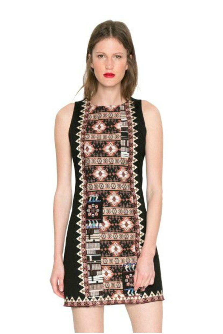 Desigual φόρεμα έθνικ στυλ
