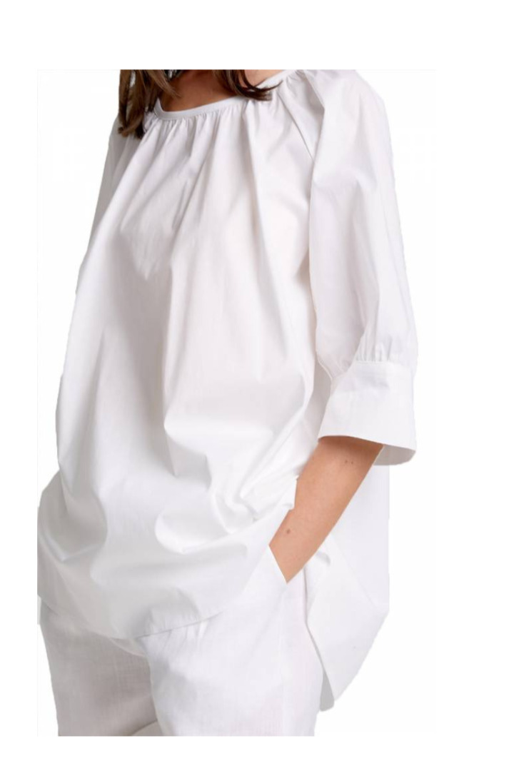 moutaki white cotton top