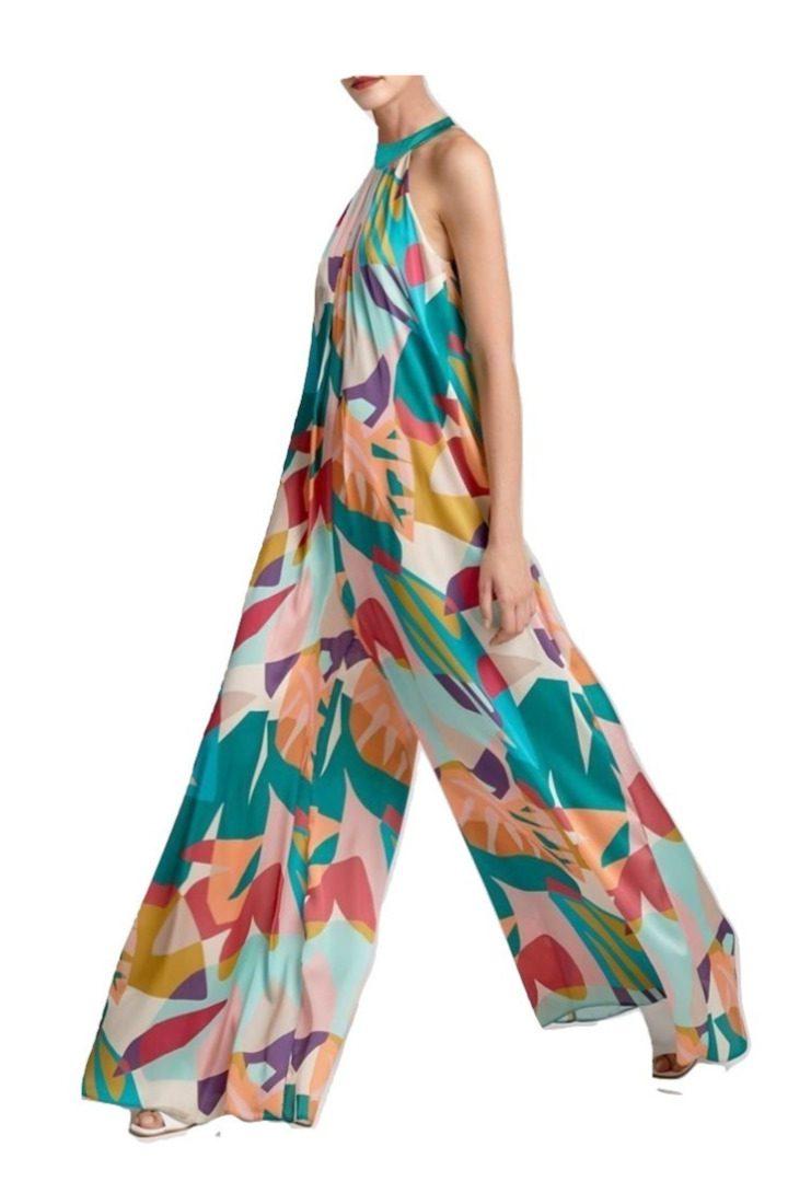 moutaki floral jumpsuit