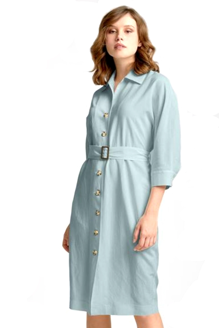 moutaki chemisier dress mint