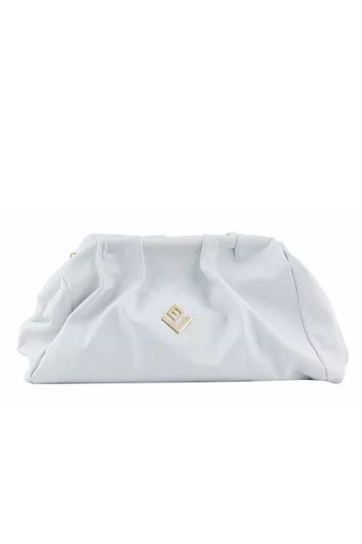 lovely handmade bag white