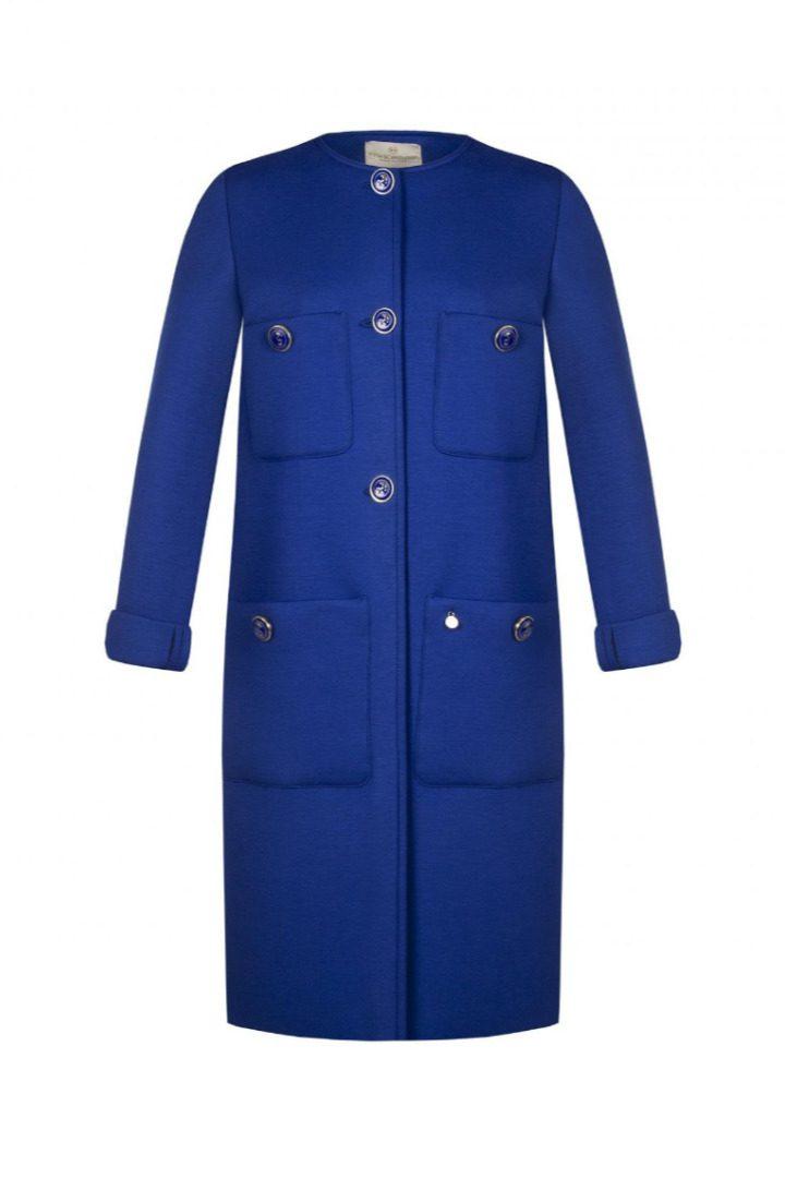 rinascimento coat neoprene with pockets