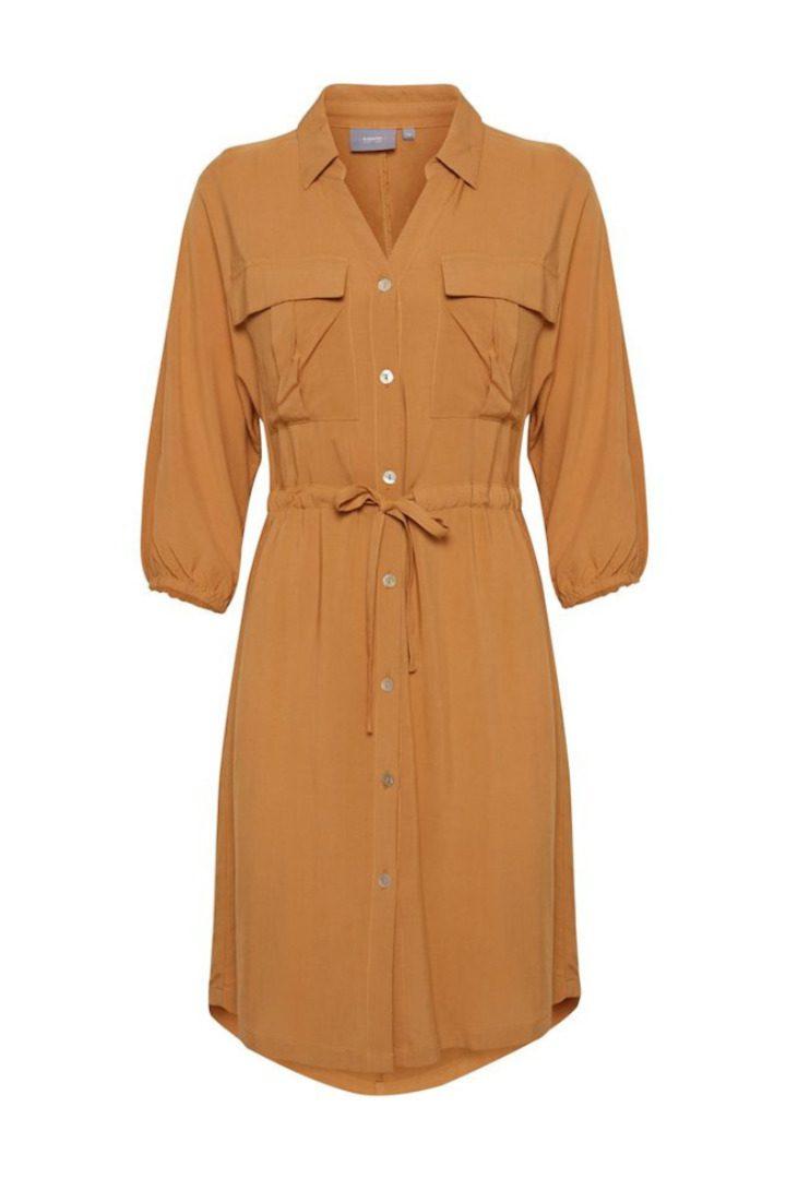 b.young chemisier dress safari brown