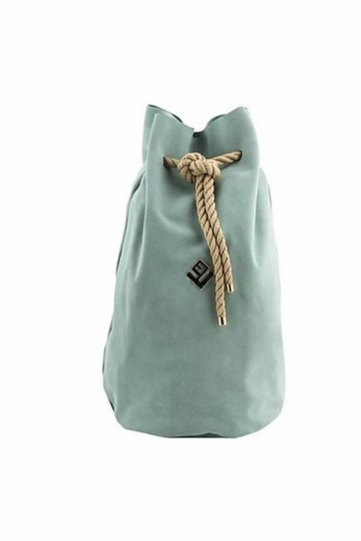 lovely handmade backpack mint