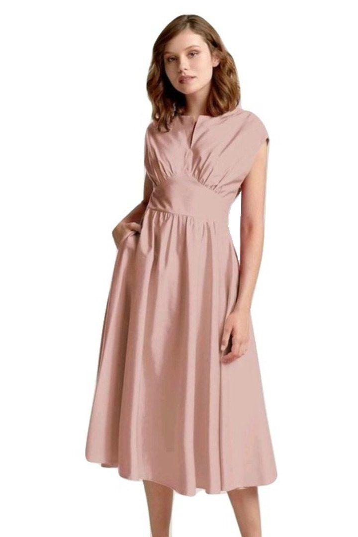 moutaki retro midi φόρεμα