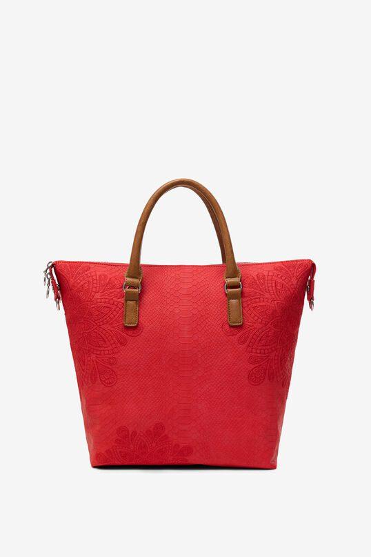 Desigual τσάντα χειρός σε κόκκινο χρώμα