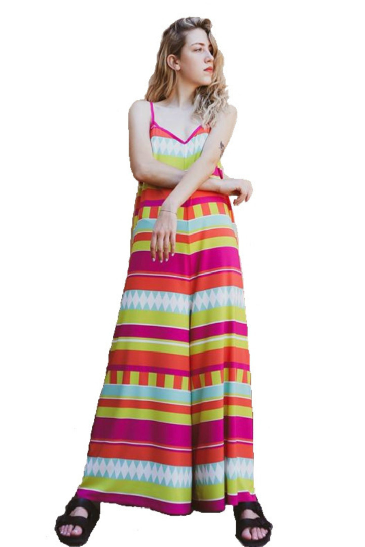 Moutaki boho ολόσωμη φόρμα
