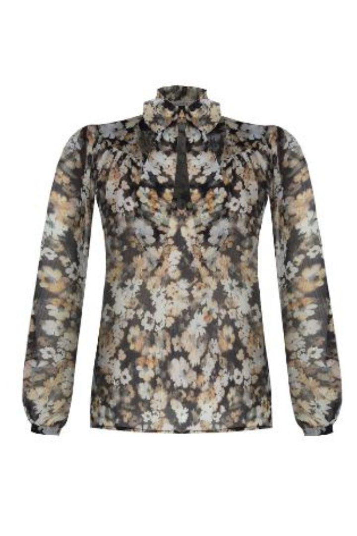 Rinascimento floral πουκάμισο μακρυμάνικο