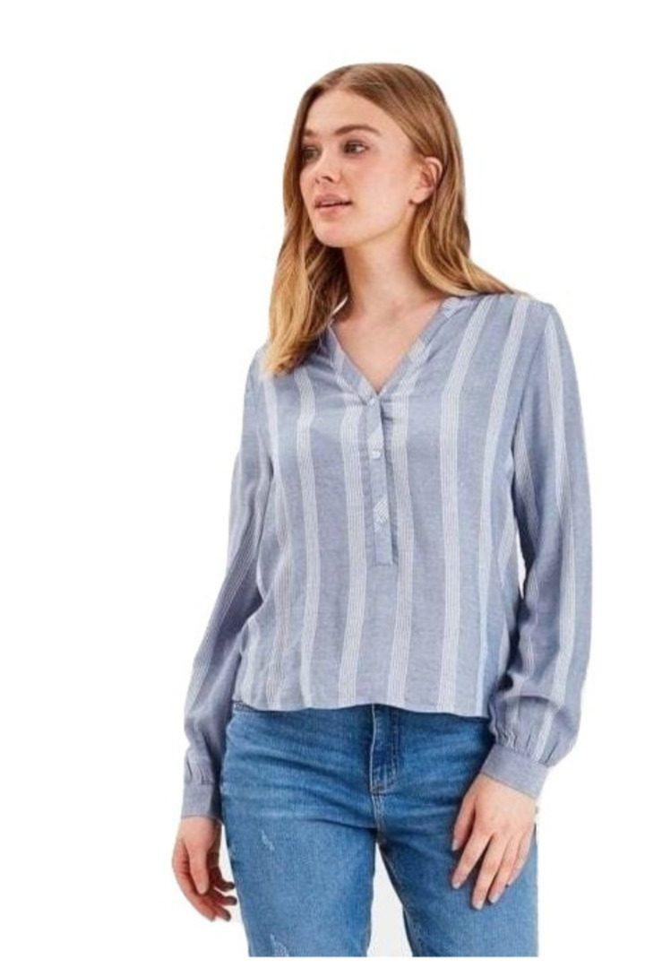 b.young μακρυμάνικο βαμβακερό πουκάμισο