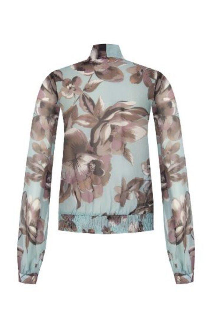 Rinascimento φλοράλ πουκάμισο μακρυμάνικο