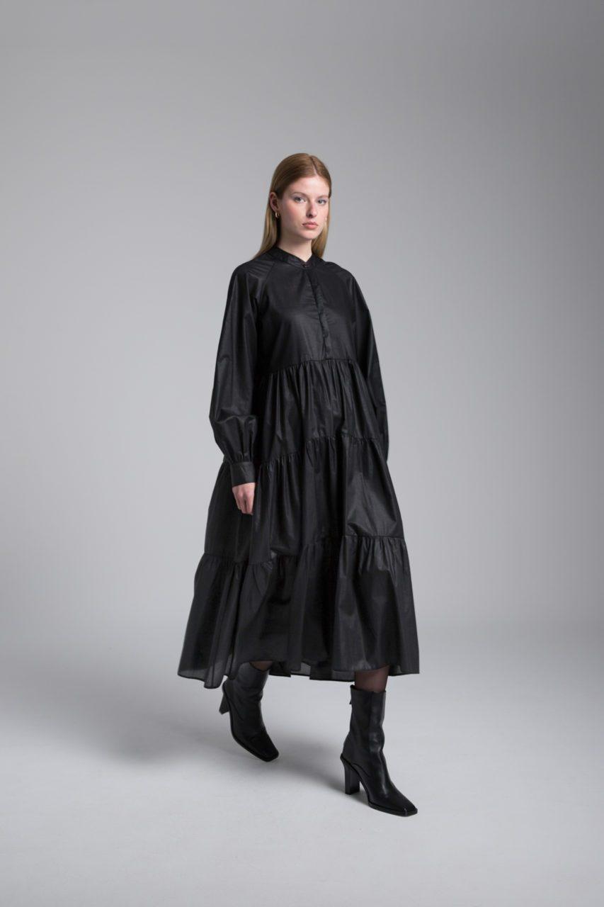 Moutaki boho μακρύ φόρεμα spaceandcolor