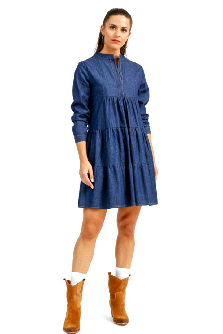 Susy mix μίνι φόρεμα τζήν