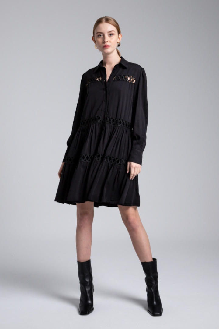 Moutaki bohemian φόρεμα