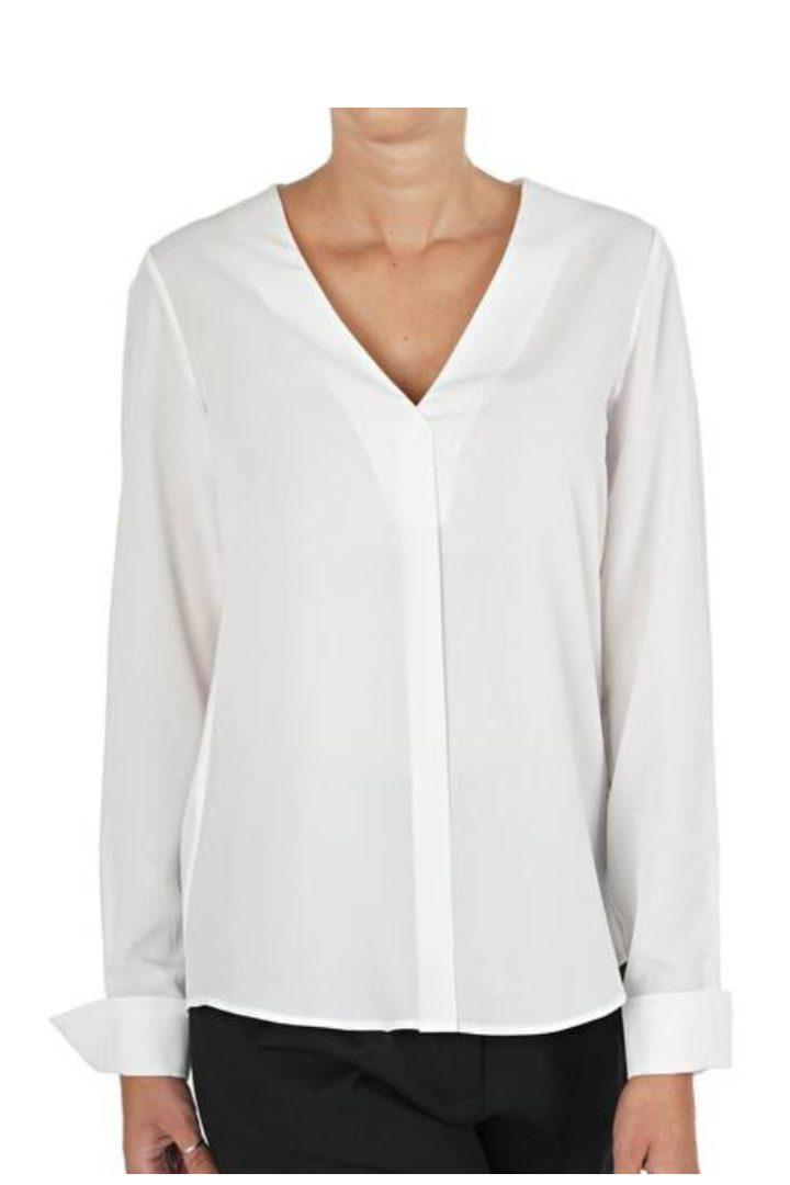 Moutaki λευκό πουκάμισο