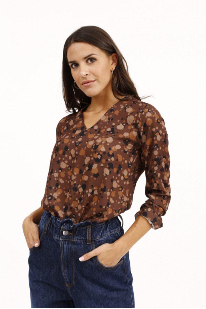 Susy mix πουκάμισο φλοράλ