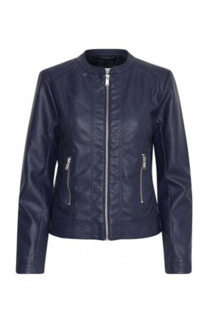 B.young eco-leather jacket