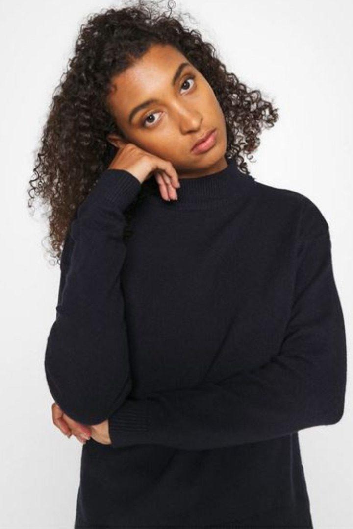 b.young γυναικεία πλεκτή μπλούζα