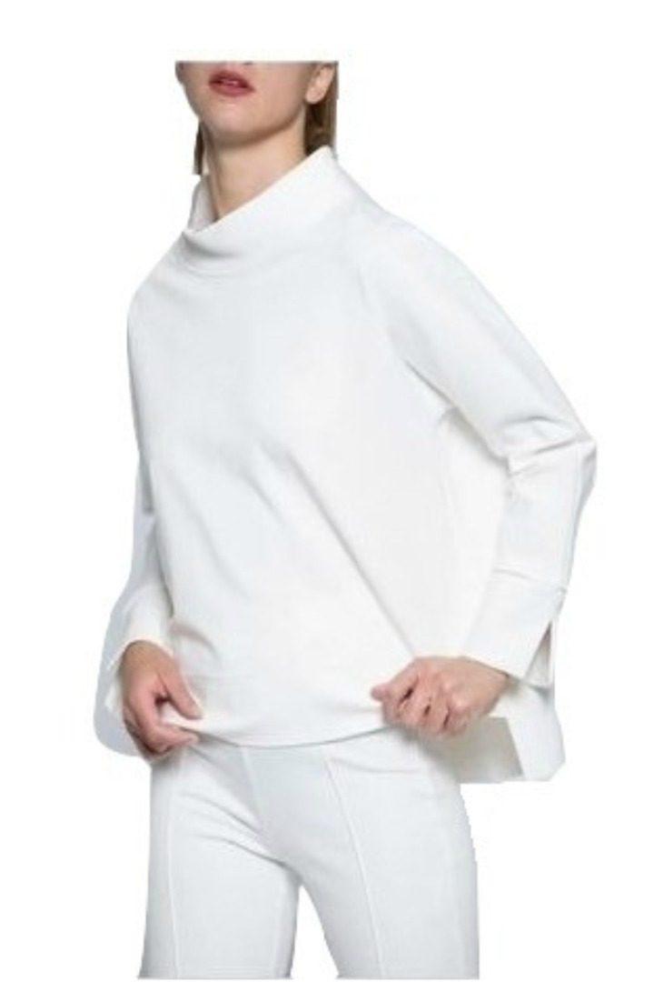 moutaki λευκή μπλούζα ποντοστόφα