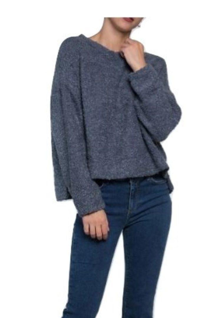 Moutaki oversize πλεκτό πουλόβερ