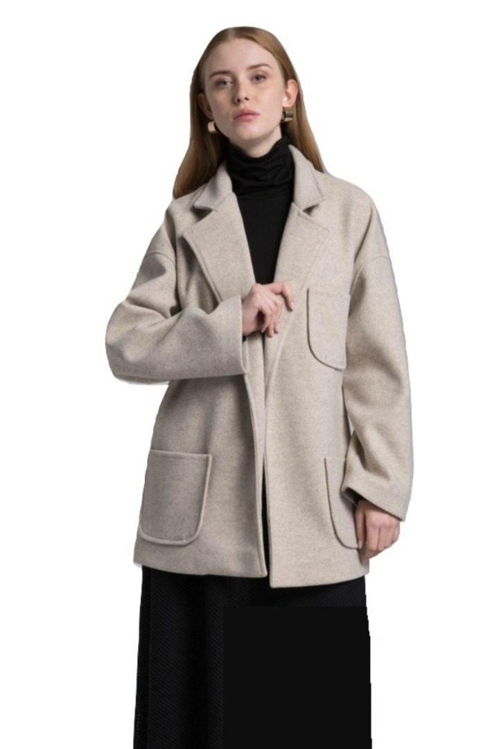 Moutaki κοντό παλτό-ζακέτα