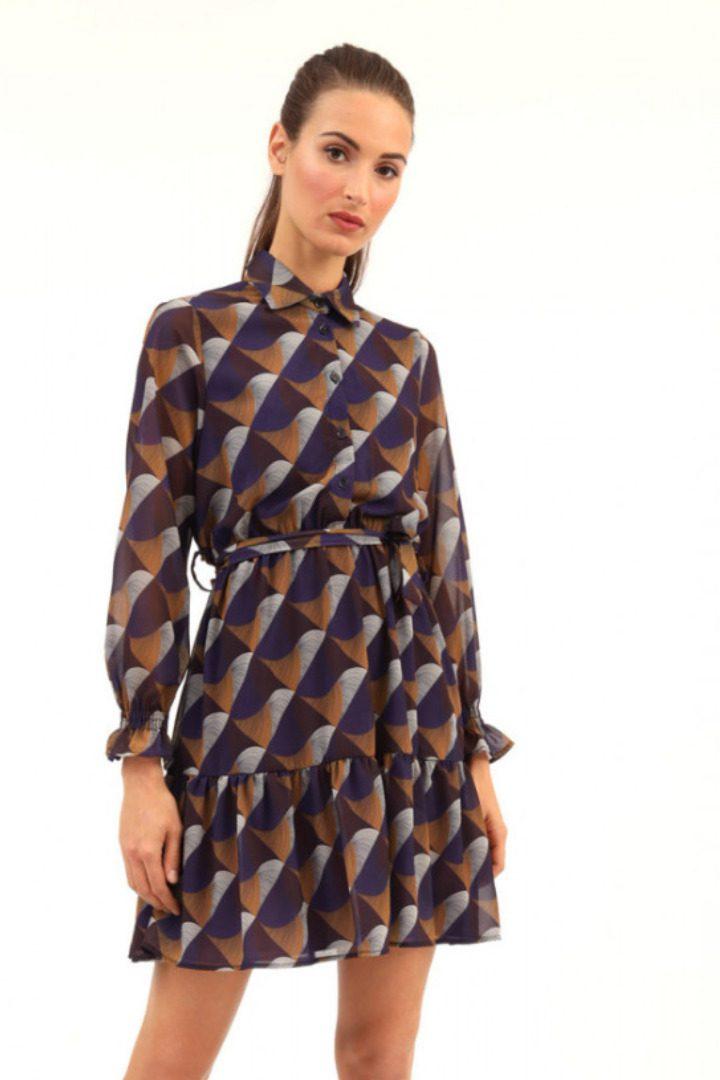 Susy mix pattern φόρεμα