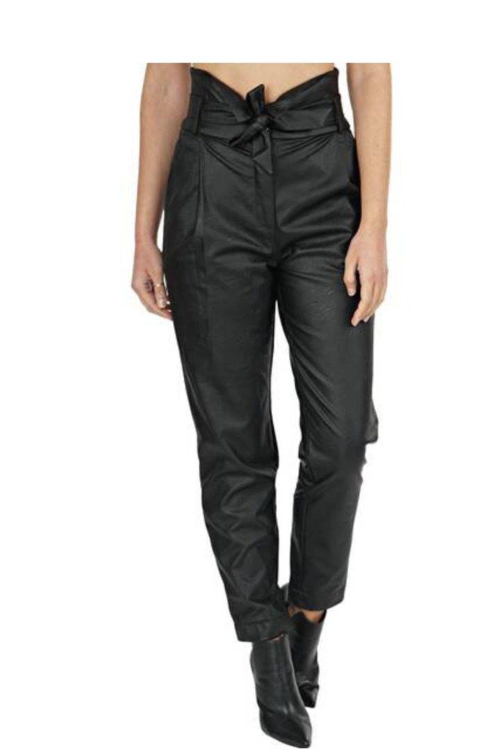 Moutaki eco-leather παντελόνι δερματίνη