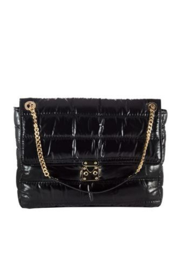 Lovely Handmade τσάντα χειρός μαύρη