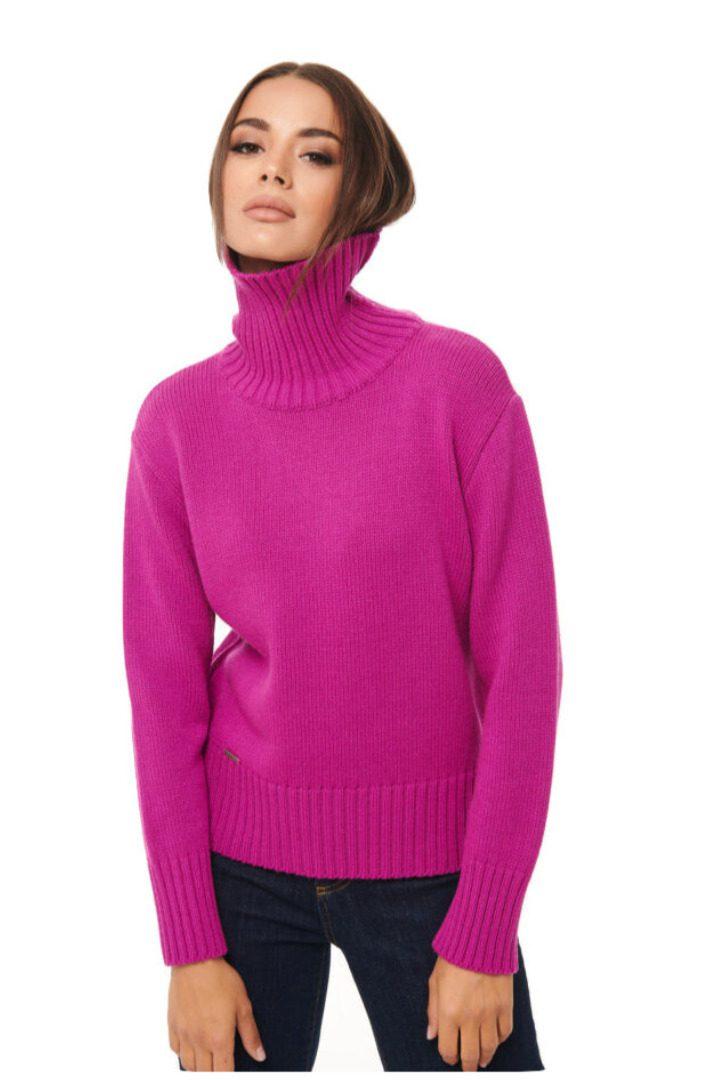 Combos Knitwear πλεκτό πουλόβερ ζιβάγκο