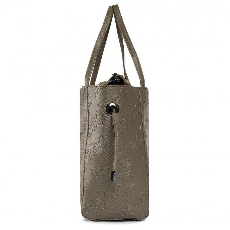 Desigual τσάντα χειρός χακί