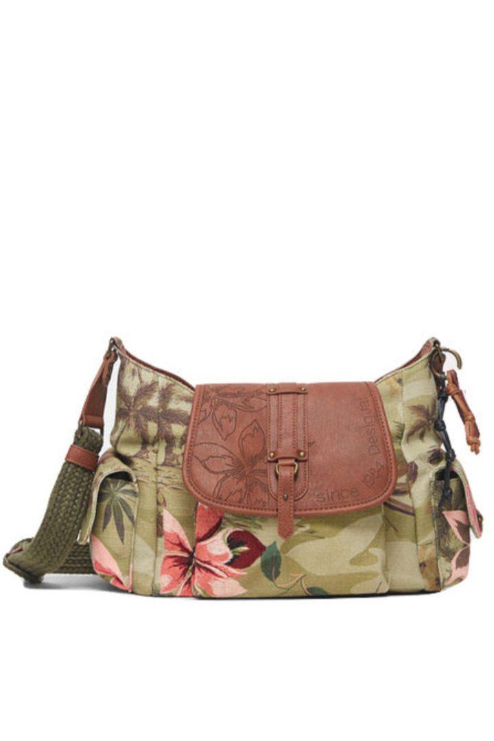 Desigual τσάντα ώμου φλοράλ