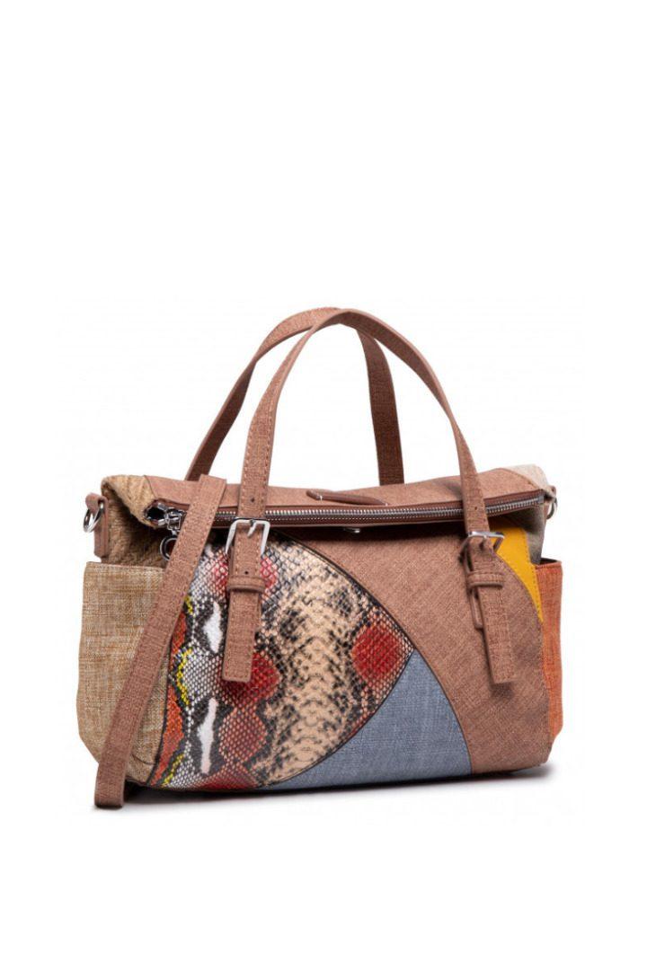 Desigual τσάντα χειρός καλοκαιρινή