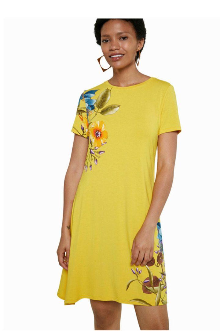 Desigual κοντομάνικο φόρεμα