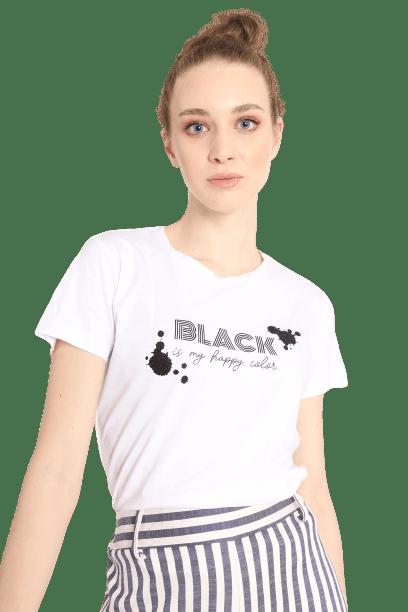 Susy mix t-shirt με στάμπα