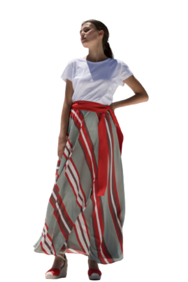 Moutaki μάξι φούστα καλοκαιρινή