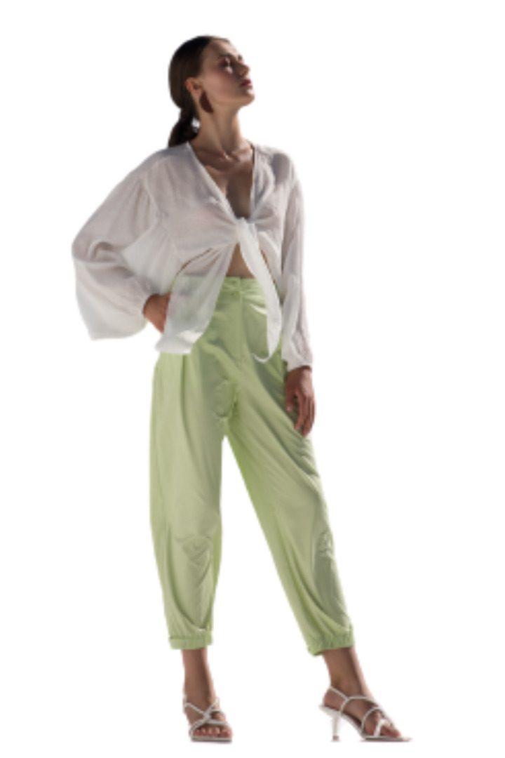 Moutaki καλοκαιρινό παντελόνι σε άνετη γραμμή