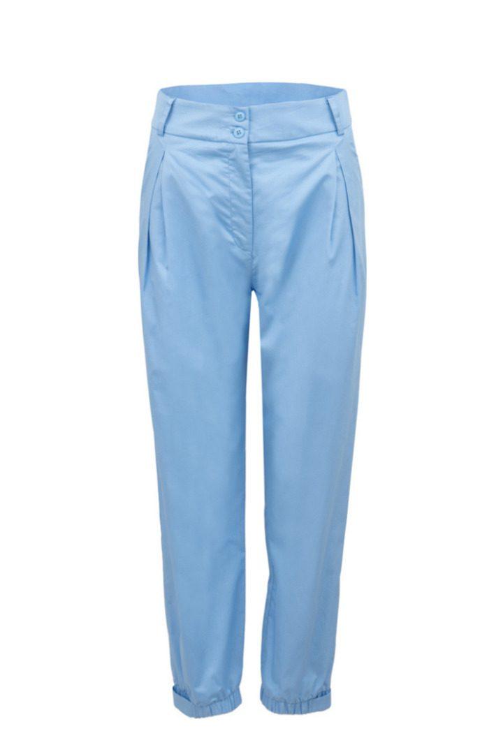 Moutaki παντελόνι με πιέτες βαμβακερό