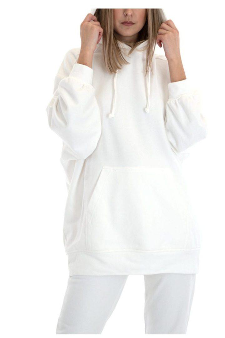 Moutaki λευκό φουτερ
