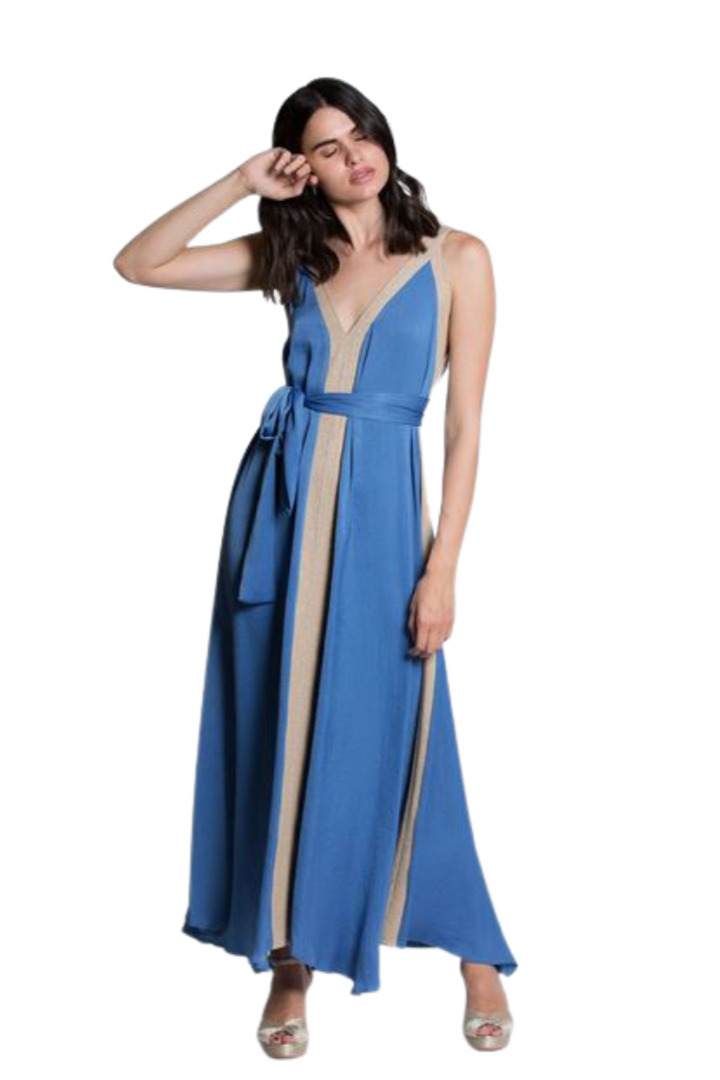 Moutaki μάξι αέρινο φόρεμα