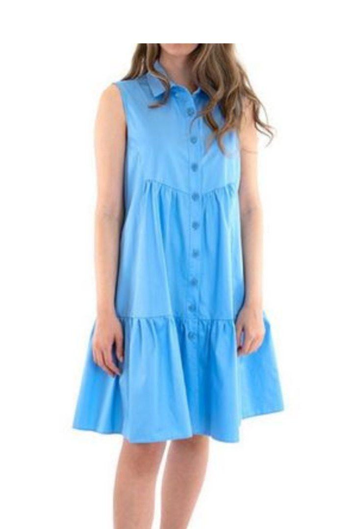 Moutaki κοντό αέρινο φόρεμα