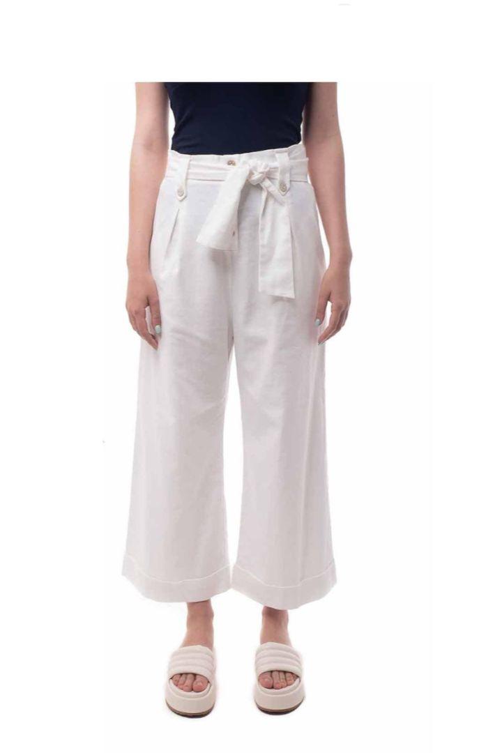 Moutaki φαρδύ παντελόνα
