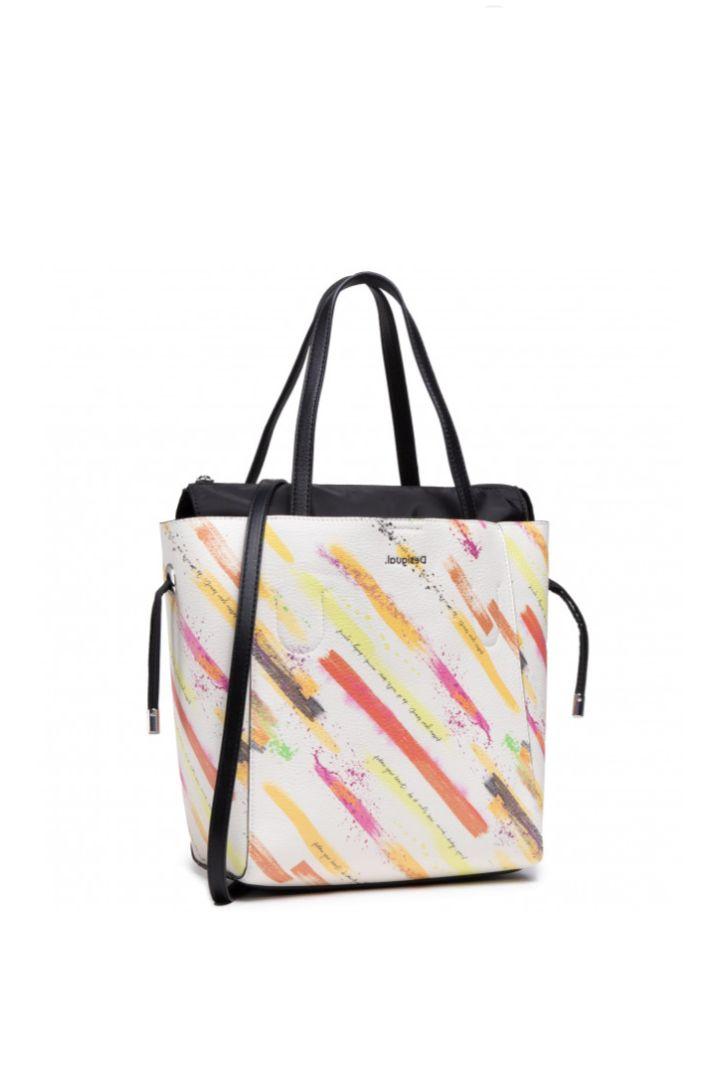 Desigual shopper τσάντα καλοκαιρινή