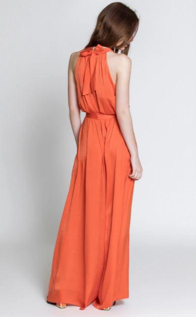 Moutaki ολόσωμη φόρμα χρώμα πορτοκαλί