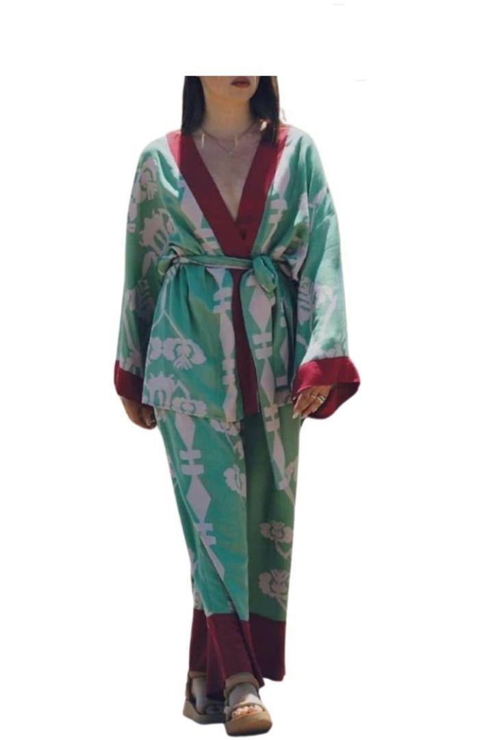 Moutaki πολύχρωμο κιμονό