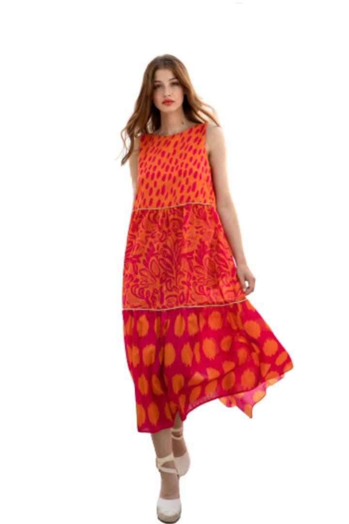 Moutaki μάξι φόρεμα