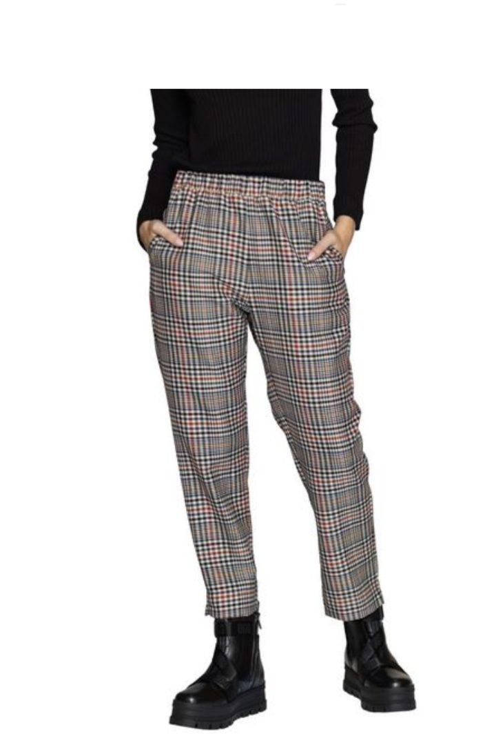 Moutaki καρώ παντελόνι