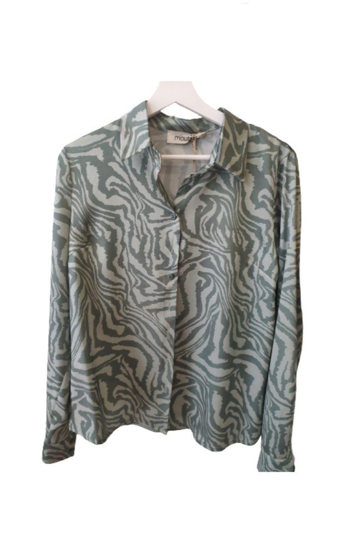 Moutaki silky μακρυμάνικο πουκάμισο