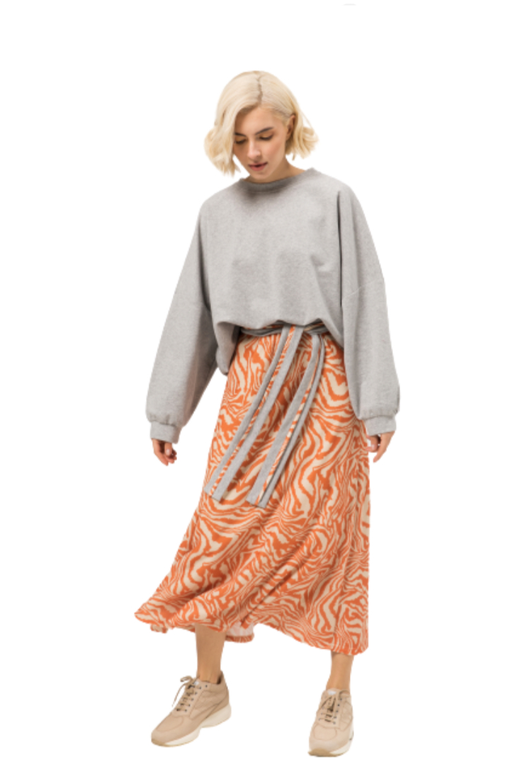 Moutaki μίντι φούστα πλεκτή